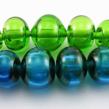 Hollow beads made at Graham Reid Design
