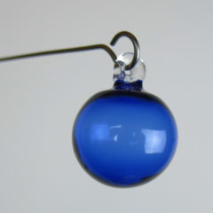 """Orbit, Seven Moon System"" Sculptural Glass Mobile"