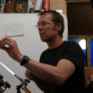 Graham Reid teaching