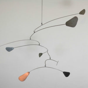 """Flight"" Stainless Steel Mobile"