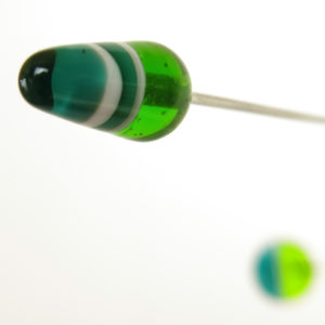 """Green Energy"" Sculptural Glass Mobile"